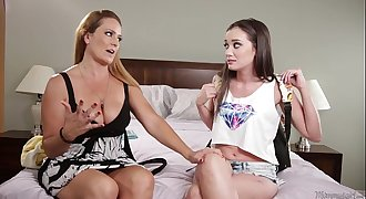 Gia Page and her new mommy, Elexis Monroe! - Mommy'_s Girl
