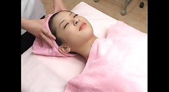 asian facial jizz massage