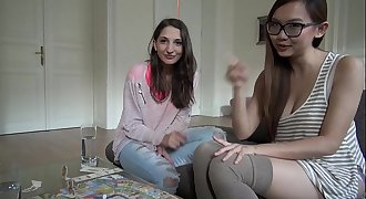 Pornstars Play Games: Jimena Lago &amp_ hot Asian