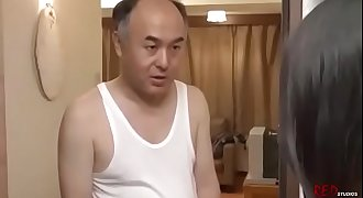 Old Man Fucks Hot Young Girl Next Door Neighbor-Japan Asian-Part1