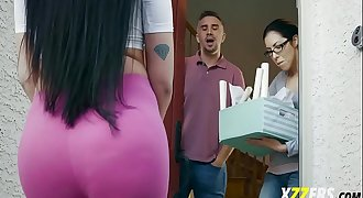 Raven Bay In Hot Neighbour Want to fuck